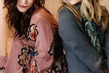 Mary-Kate & Ashley Olsen / I love twins, they're cute. I loved those two from my childhood,  so they will always be in my heart