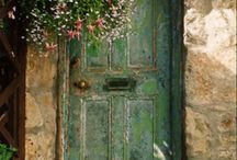 Doorways & beautiful landscapes