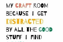 Craft Rooms / A craft room should never be dull... you should be able to find things at a mere notice, and in view...... good luck....