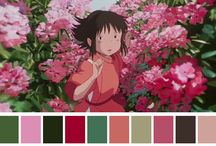 colour palettes in movies