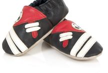 Slumbertoes / Cute little shoes available for 0-6 months, 6-12 months, 12-18 months and 12-36 months.