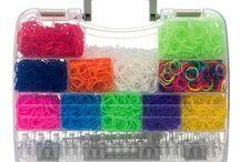 Rainbow loom storage cases
