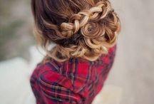 Bridal fashion hair