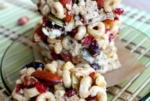 Snacks / For when hunger strikes - sweet and savoury snack recipes!