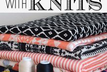 A-sewing with Knits
