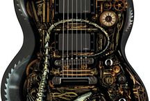 steampunking guitars