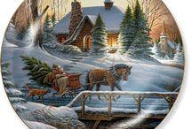 Runde Vinter / Jule billeder.