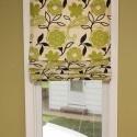 Homemade roman blinds
