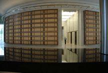 Devon Energy Headquarters / The inside of Oklahoma City's tallest building showcasing MGI's Caldia marble