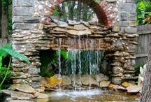 Waterfalls for small gardens
