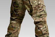 [Military] Pants, knee pads