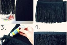 DIY skirt dress