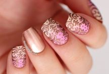 Romantic nails / Romantyczny manicure
