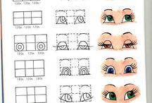 Progetti da provare / occhietti x pupazzi vari...