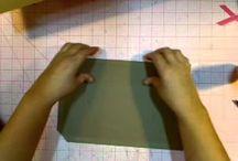 Kathy Orta Paperbag album - matchbookstyle / 2 tutorials