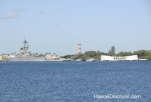 Pearl Harbor / Pearl Harbor Oahu then and now.