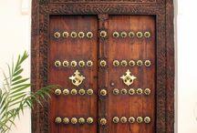 front doord