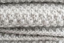 halstørklæde strik