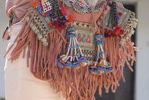 Boho Style / bohemian fashion, gypsy, boho style, ethno