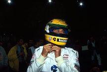 Ayrton Senna / Images of the brazilian legend.