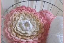 Crocheted flowers / by Marie Hahn