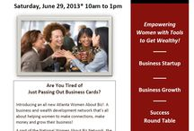 Business Events for Women / This board features business teleclasses, conferences and events designed for women! / by Women About Biz