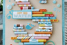Scrapbooking with decorative papers!