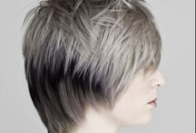 Uniform layered haircuts -3 images for look book