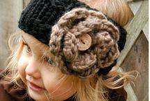 Вязание. Повязки на голову