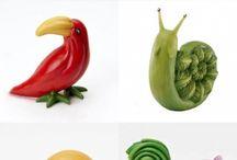 Comida artística