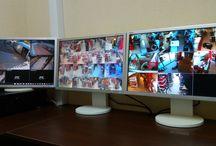 Видеонаблюдение / Video Surveillance / Камери за видеонаблюдение, видеорекордери и цялостни системи за видеонаблюдение :) Работни снимки по време на работан - монтаж и настройки.