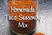 Seasonings, Extracts, Etc. - Homemade / by Ken