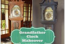 Grandfather clock ideas / by Lauren BeDair