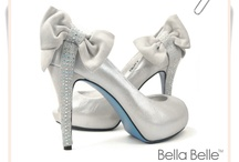 Bella Belle Bridal Shoes / From 'Something Blue' to 'Something Vintage-like'.