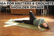 Yoga for knitters