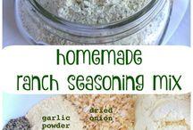 DIY Soups and Seasonings