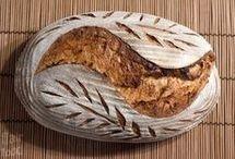 Chléb kvaskovy.