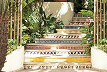 Mosaik trapp