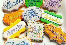 *Appreciation Cookie Ideas