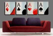Poker Room / Do you want to create the perfect poker room in your home. BBO Poker Tables as some great ideas!