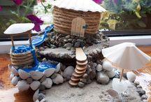 fairy beach house DIY
