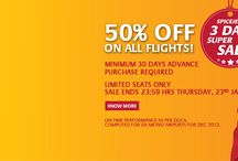 Independance Day Sale / Save Up to 50% on all Air Tickets with All Airlines in India