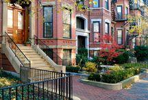 Boston Brownstones / by Boston Luxe