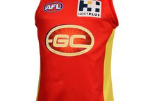 ShopAFL Gold Coast Suns Gear / Find all the latest Gold Coast Suns gear and merchandise from all clubs on the Official Online Shop of the AFL. Visit us at http://Shop.AFL.com.au/ today