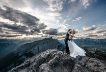 mountain wedding session