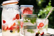 "Le Parfait - Drinks / Use Le Parfait jars and terrines to make your favorite drinks and you'll have ""THE PERFECT"" refreshments!!  Enjoy!!"