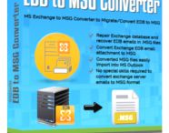 EDB to MSG Converter / EDB to MSG Converter is the best program which successfully converts EDB Emails to MSG file. Software supports both corrupted EDB and healthy EDB file to be convert into MSG.
