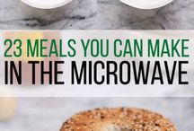 Cooking in microwave while traveling