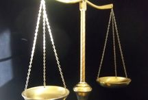 Vintage Scales of Justice / All types vintage scales for home decor and collectors like me / by Sylvia
