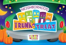 Trunk or Treat / Trick or treating with your child the fun and safe way.